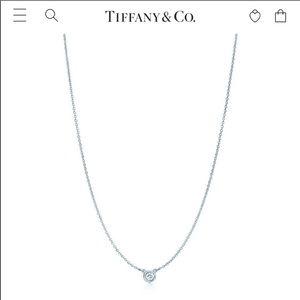 Elsa Tiffany and co diamond necklace